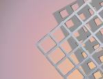 Tabla perforata cu perforatii patrate otel inox